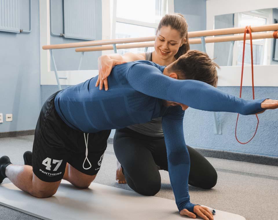 Rehabilitační a fyzioterapeutické centrum - Kompenzační cvičení