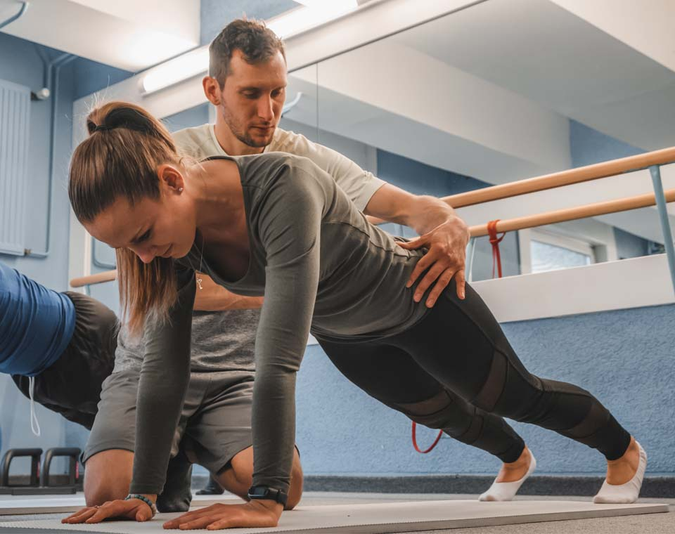 Rehabilitační a fyzioterapeutické centrum - Rekondiční cvičení