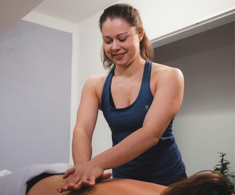 Rehabilitační a fyzioterapeutické služby - Masáže