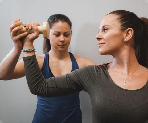 Rehabilitační vyšetření a funkční diagnostika pohybového aparátu a léčba bolestí - Kompenzační cvičení